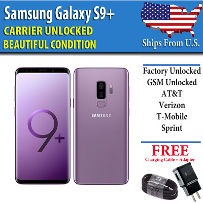 Samsung Galaxy S9 Plus PURPLE - 64GB - UNLOCKED - Verizon AT&T T-Mobile Sprint B
