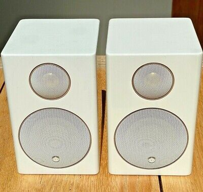 2 ( Pair) Monitor Audio Radius 90 HD  Gloss White Excellent Working Order