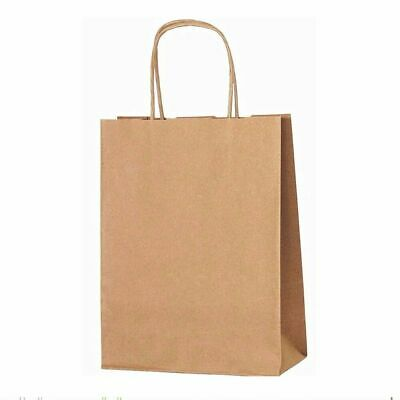 Brown Twist Handle Paper Party and Gift Carrier Bag Large 320 x 400 x 130 mm