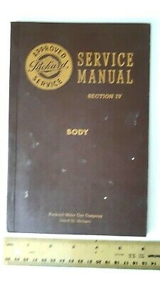 1949 PACKARD Body - Service Manual - B&W Catalog - Very Good Condition- (US)