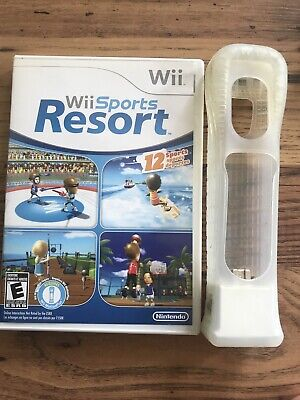 Wii Sports Resort Nintendo Wii Complete In Box With Wii Motion Plus Works