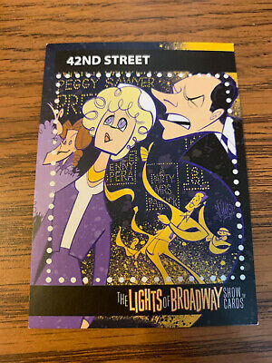 The Lights of Broadway Cards ~ 42nd Street ~ Autumn 2017