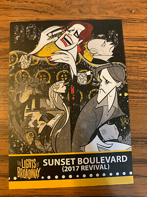 The Lights of Broadway Cards ~ Sunset Boulevard (2017 Revival) ~ Spring 2017