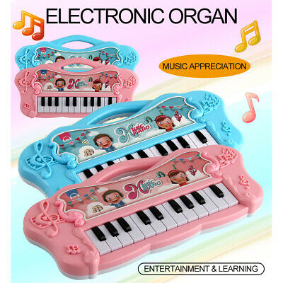 Music Electronic Keyboard Mini Electric Piano Gift for Kids Learn & Play Toy