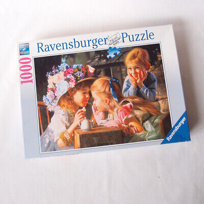 Ravensburger 1000 Piece Jigsaw Puzzle Tea Party Artwork Family Board Game Indoor
