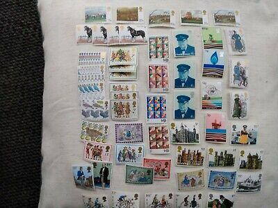 GB Postage Stamps - Batch including Christmas/cycling/Jane Austen New/Unfranked
