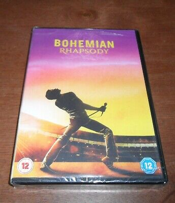 Bohemian Rhapsody DVD new