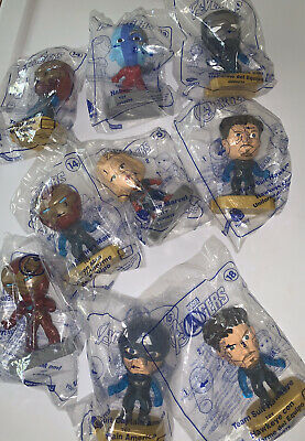 McDONALDS MARVEL AVENGERS HAPPY MEAL TOYS LOT OF 11 2019