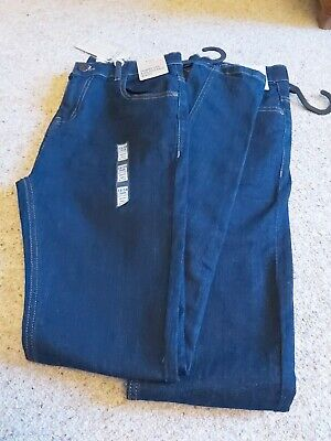 Bnwt 2 Pairs marks And Spencer Boys skinny Jeans 13-14