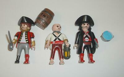 PLAYMOBIL PIRATE action figure and gear LOT