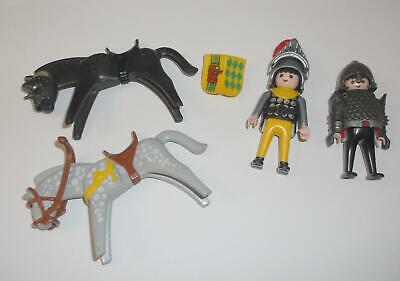 PLAYMOBIL Mounted Knights action figure LOT