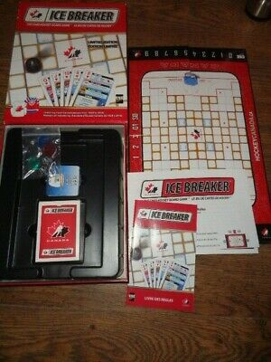 Canada Ice Breaker Game - The Card Hockey Board Game - Complete