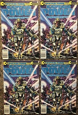 Captain Power #1 And The Soldiers Of The Future Continuity Comics