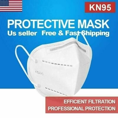 KN95 50 Pc Protective Face Mask Respirator 4 Layer Covers Mouth & Nose KN-95