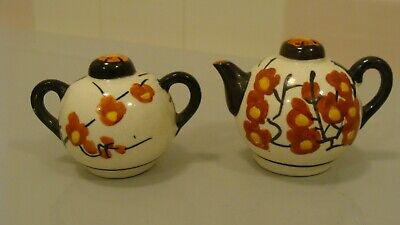 My House Vintage teapot salt and pepper shakers Japan