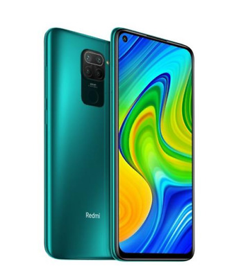 "Xiaomi Redmi Note 9 Forest Green 128Gb Rom 4Gb Ram Display Full Hd 6.53"" Android"