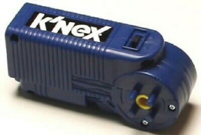 KNEX BLUE MOTOR Battery Powered Forward Reverse Replacement Part Piece