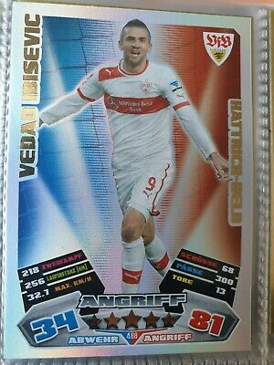 vfb stuttgart-carte choisir Match ATTAX 14//15 2014//2015