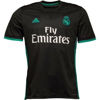ADIDAS MAILLOT REAL Madrid Exterieur Football Noir 20172018