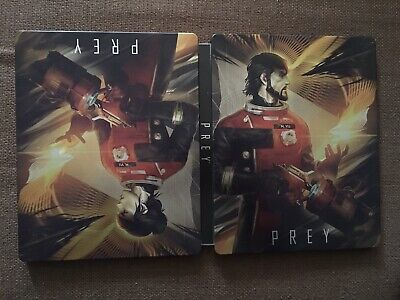 Prey Steelbook For Ps4/Xb1-Soundtrack-Outer Box-No Game Exc Con