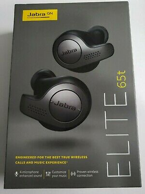 Jabra Elite 65t Alexa Enabled True Wireless Earbuds With Charging Case New 119 99 Picclick