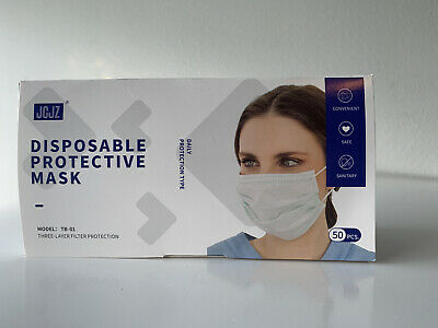 1 Box Of JCJZ MODEL TB-01 FACE MASK