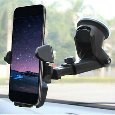 360° Rotating Car Windscreen Suction Cup Window Mount Phone Holder Bracket Stand