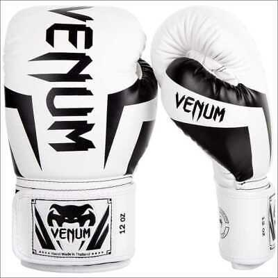 Venum Gladiator 3.0 MMA Gloves Semi Leather Martial Arts Sparring Fight Red