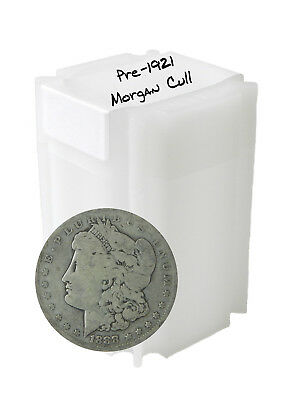 Pre 1921 Silver Morgan Dollar Cull Lot of 10 S$1 Coins *Credit Card Payment Only