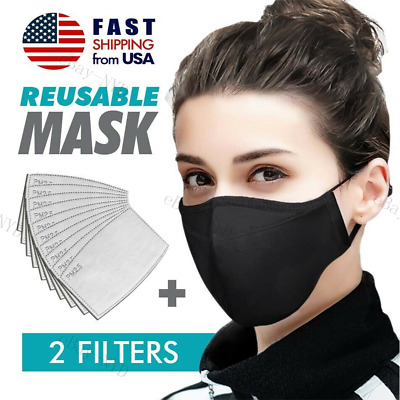 3D Pure Cotton Face Mask Washable Reusable Light Unisex Solid-color USA-In-Stock
