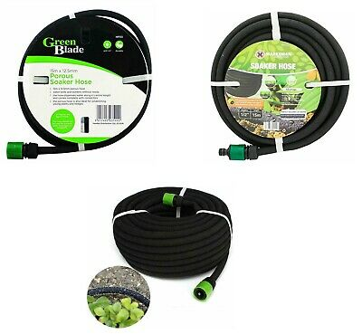 Garden Porous Soaker Hose Automatic Drip Leaky Watering System Irrigation