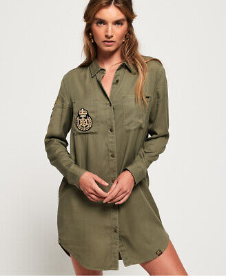 SUPERDRY DAMEN WINTER Rookie Military Jacke EUR 32,95