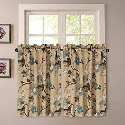 H Versailtex Kitchen Curtains 24 Inch