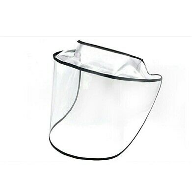 Two Protective Face Shield Visor With Adjustable Ties