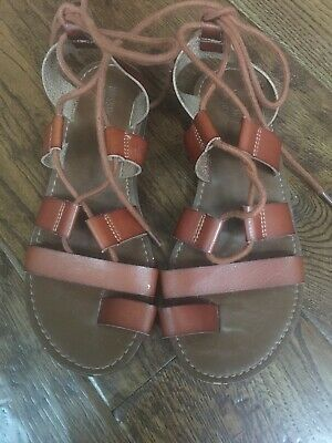 Mossimo Women/'s Maeve Gladiator Sandals Blush//Tan Size 5.5   New in Box