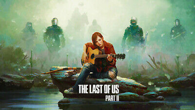 THE LAST OF US GAME GLOSSY WALL ART POSTER PRINT A1 - A5 SIZES AVAILABLE