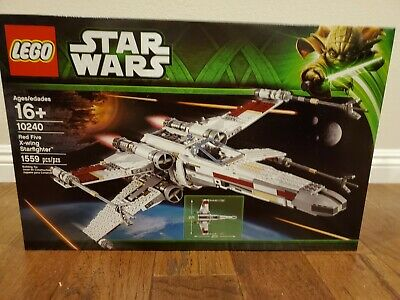 LEGO Star Wars 10240 Red Five X-wing Ultimate Collector NEW SEALED RETIRED Look!