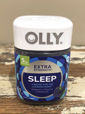 Olly Restful Sleep Blackberry Zen Melatonin Vitamin Gummies 50 Ea