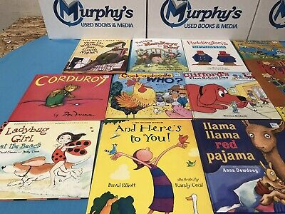 Story Time Assorted Bundle / Lot of 50 Random Books for Kids/Toddlers/Daycare