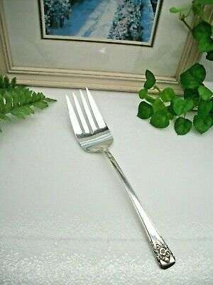 Original Rogers 2007 Mountain Rose Silverplate 1954 Grille Fork Set of 4