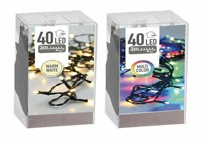 LED Mini-Ghirlanda di luci 35er warmweiss//BIANCO INTERNO P-LED 422-11 Xmas