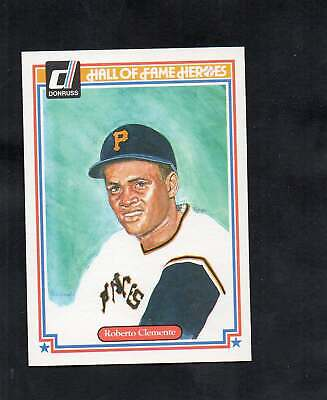1983 Donruss Hall of Fame Heroes Roberto Clemente #17