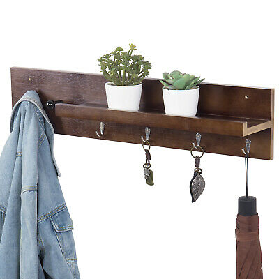 Mygift Dark Brown Bamboo Entryway Wall Organizer With Floating Shelf And 6 Hooks 39 75 Picclick Uk,Delta Airlines Baggage Fees Military Dependents