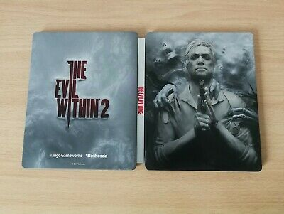 Steelbook The Evil Within 2 Ii Caja Metálica Ps4 Xbox One Pc Steelcase