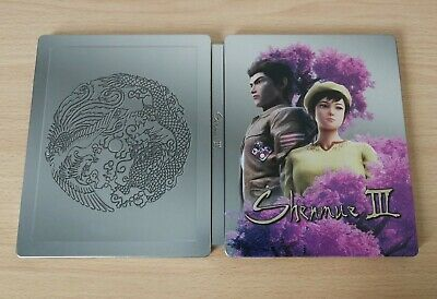 Steelbook Shenmue 3 Iii Caja Metálica Ps4 Xbox One Pc Promo Steelcase Steel Book