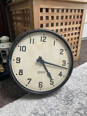 Gents of Leicester Industrial Wall Clock