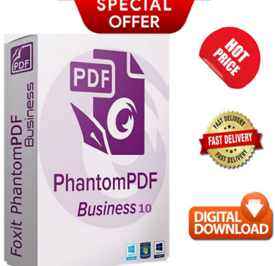 Foxit Phantom PDF Business Latest Full Version✅lifetime activated✅Fast Delivery⚡