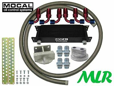 Mocal 3/4UNF Combinato Radiatore Olio Remoto Lima Kit VW Golf MK4/5 Gti Turbo