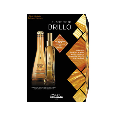 Mythic Oil Pack k champú + Aceite - L'Oreal Professionnel - 900 gr