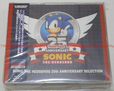 New Sonic The Hedgehog 25th Anniversary Selection 2 Cd Dvd Japan Wwce 31380 60 00 Picclick